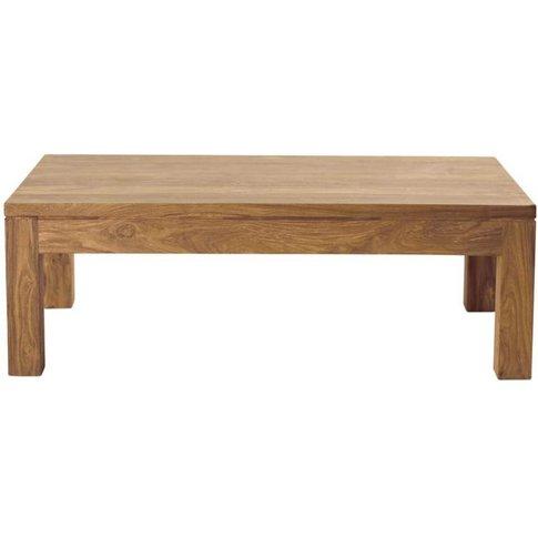 Solid Sheesham Wood Coffee Table Stockholm