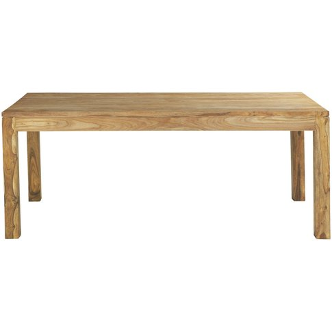 Solid Sheesham Wood Dining Table L200 Stockholm