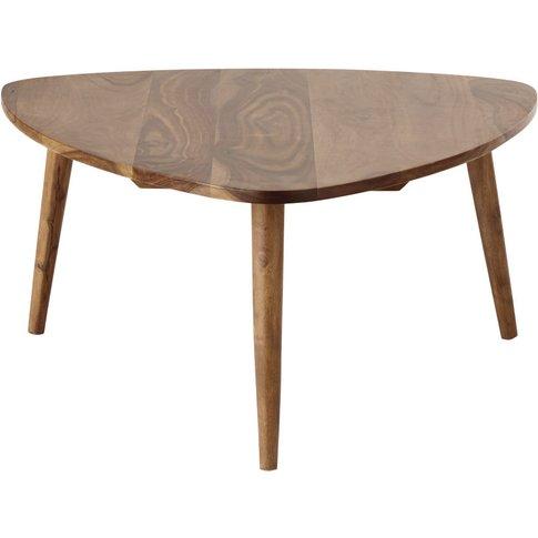 Solid Sheesham Wood Vintage Coffee Table Andersen