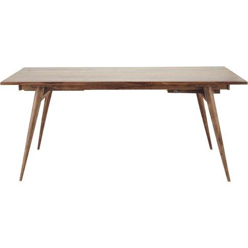 Solid Sheesham Wood Vintage Dining Table L175 Andersen