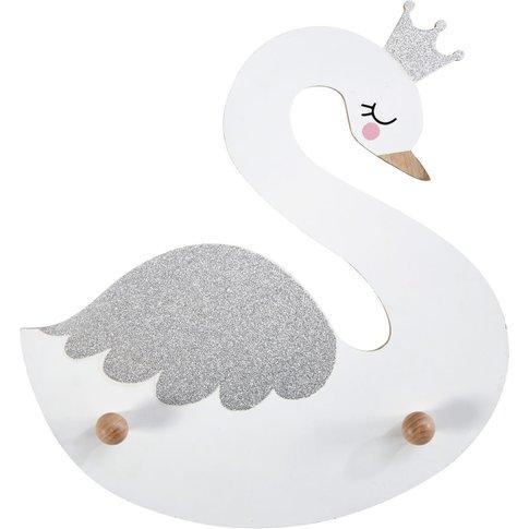 Swan 2-Hook Coat Rack
