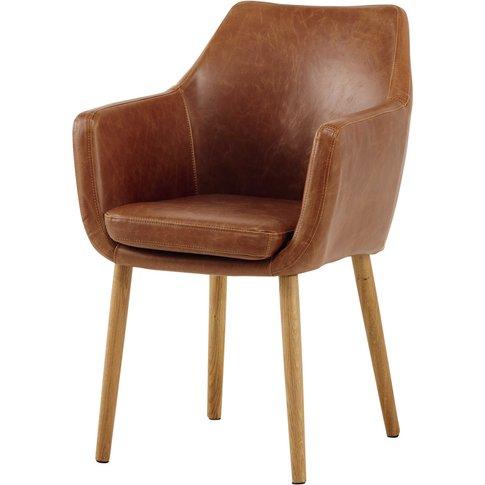 Vintage Armchair In Brown Davis