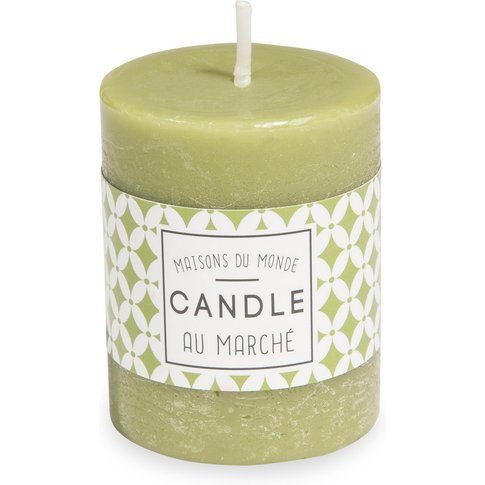 VOTIVE green candle