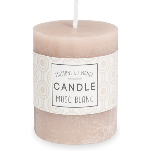 VOTIVE taupe candle