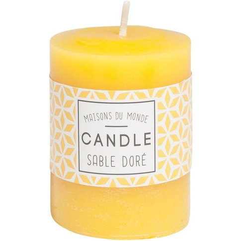 VOTIVE yellow candle