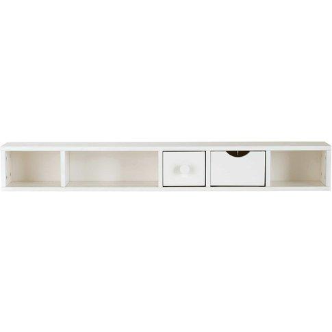 White 2-Drawer Storage Unit For Desk Joy