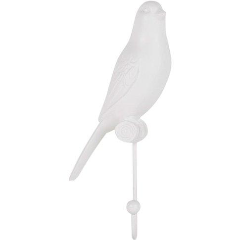 White Bird Coat Hook