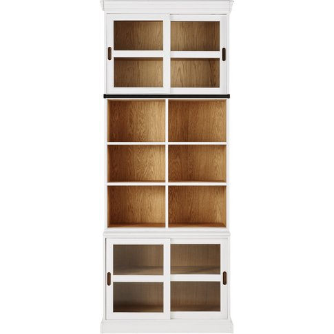 White Bookcase Versailles