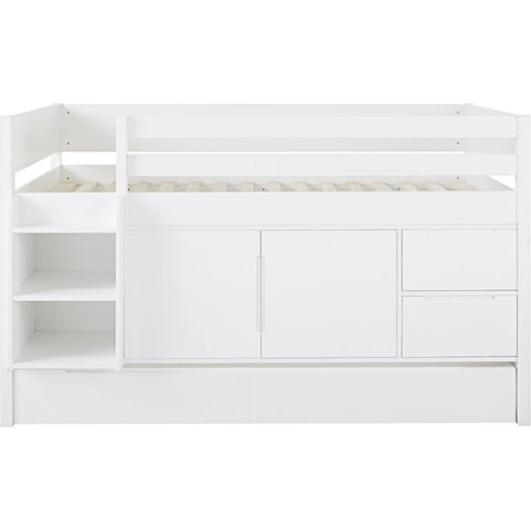 White Cabin Bed 90x190 Dreams