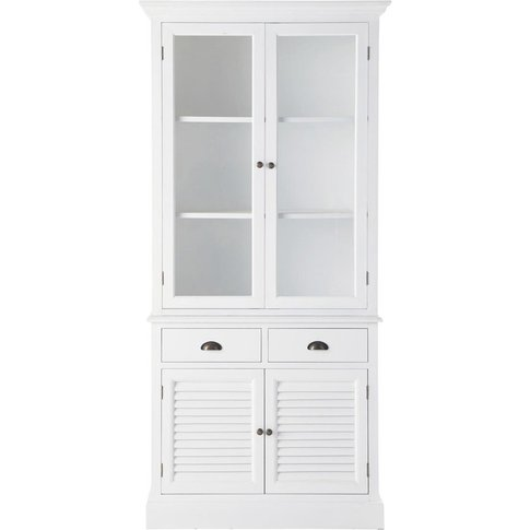 White China Cabinet Barbade