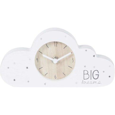White Cloud Clock 20x10