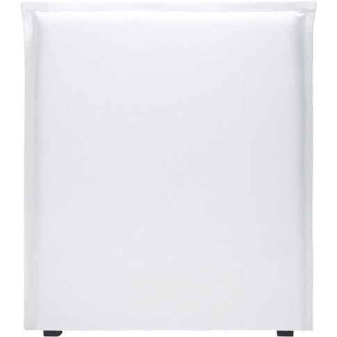 White Linen 90 Headboard Cover