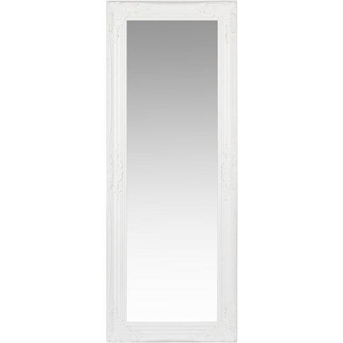 White Paulownia Mirror 50x130