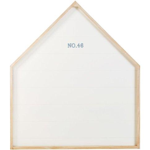 White Printed Headboard 90 Marin