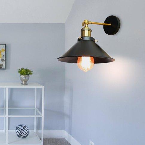 2 Pack 26cm Metal Iron Wall Lamp Industrial Ceiling ...