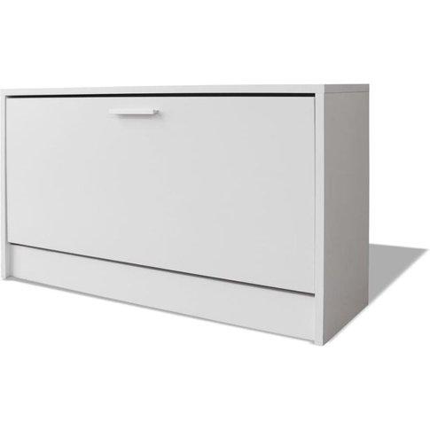Shoe Storage Bench White 80x24x45 Cm - Vidaxl
