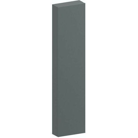 Slimline Slate Gloss Wall Hung Cabinet 1250 X 300mm - Accents