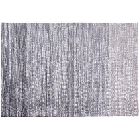 Wool Area Rug 140 X 200 Cm Grey Kapakli - Beliani