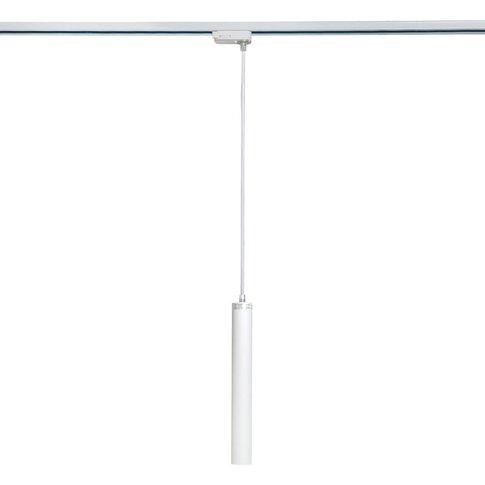 Liv 5w Led White Round Track Light Pendant - Kitchen...