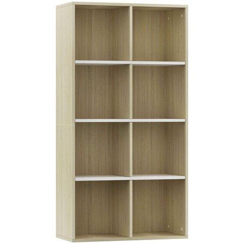 Vidaxl - Book Cabinet/Sideboard 66x30x130 Cm Chipboa...