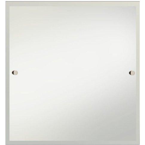Gold 600mm X 600mm Square Bathroom Mirror - Comp-Mrs...