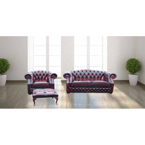 Buy Chesterfield Buckingham Suite Antique Leather Su...