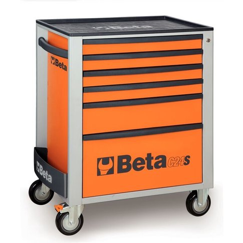 Beta 024002062 C24s 6/G Mobile Roller Cabinet With S...