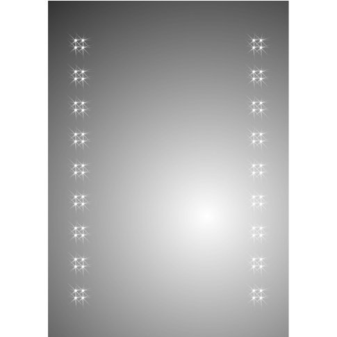 Ceres 500mm X 700mm Battery Operated Mirror - Wholesale Domestic