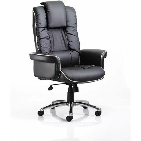 Netfurniture - Chel Leather Swivel Adjustable Office...
