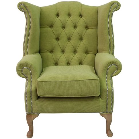 Chesterfield Queen Anne High Back Wing Chair Verity ...