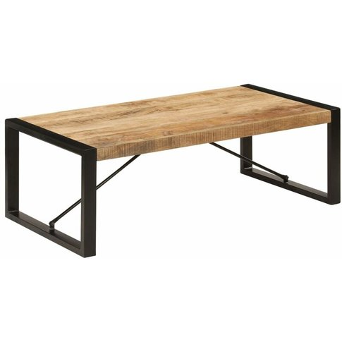 Coffee Table 120x60x40 Cm Solid Mango Wood - Youthup