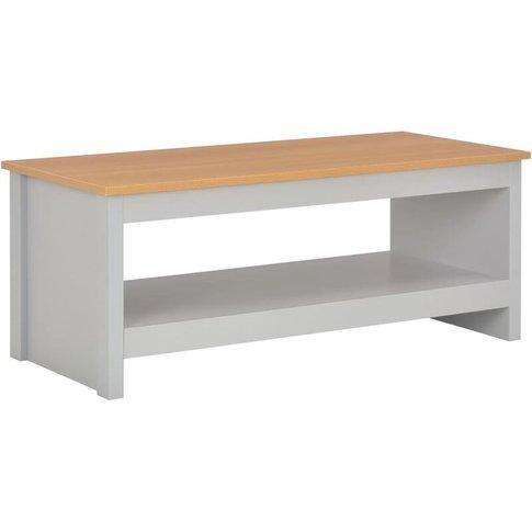 Vidaxl - Coffee Table Grey 105x47x42 Cm