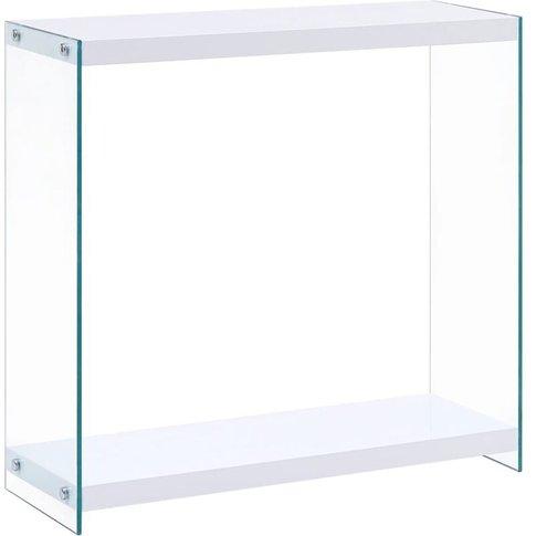 Console Table White 80x29x75.5 Cm Mdf - Vidaxl