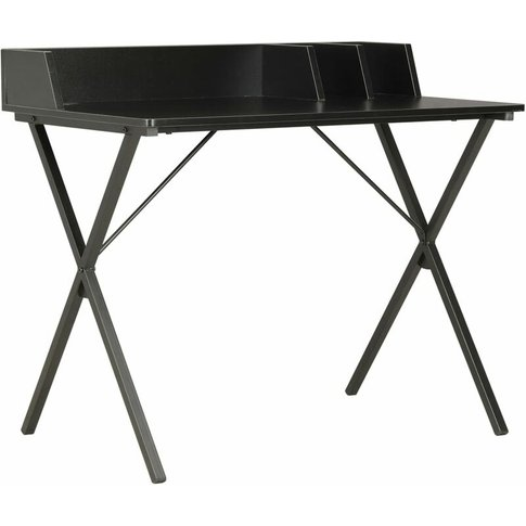 Desk Black 80x50x84 Cm - Vidaxl