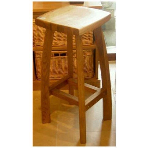 Detay Solid Wood Kitchen Bar Stool Wooden Oak,Walnut...