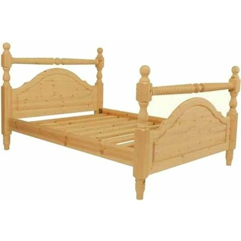 Astwood - Double Premier Oxford Pine High End Bed (4...
