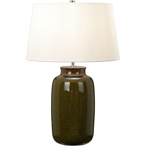 Elstead Kingston Vale - 1 Light Table Lamp Ceramic, ...