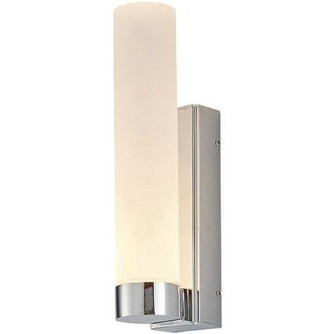 Salano - Bathroom Integrated Led Wall Lamp Chrome Ef...