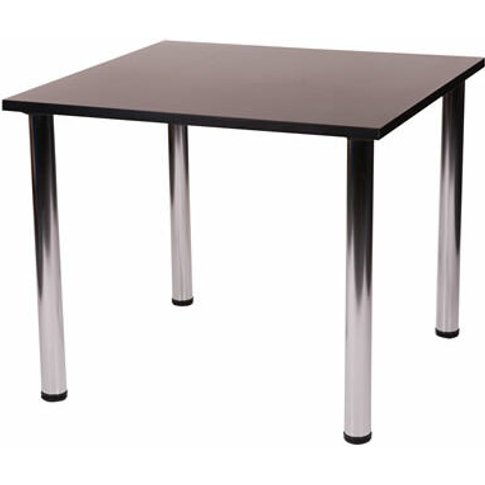 Fabizona Chrome Kitchen Dining Table Square - Small ...
