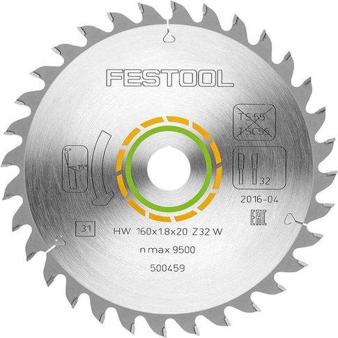 Festool 500459 160mm X 1.8 X 20 X 32t Fine Tooth Saw...