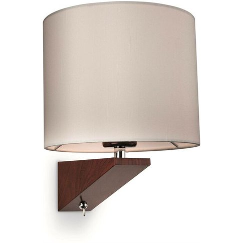 Alpine - 1 Light Indoor Wall Light (Switched) Dark W...
