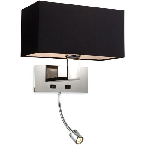 Prince - 1 Light 2 Light Switched Indoor Wall Light ...