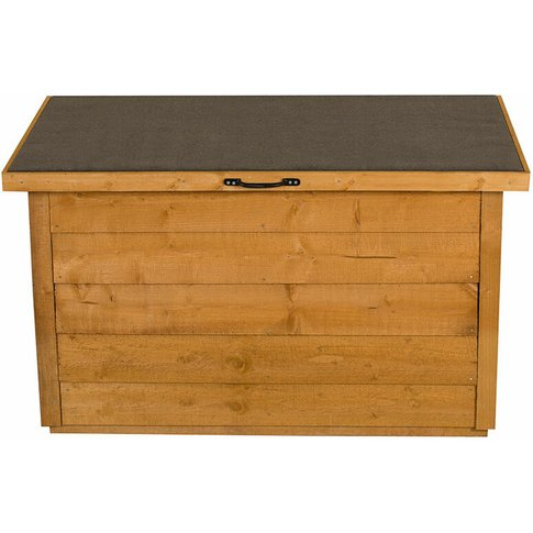 Forest Garden - Forest Wooden Garden Storage Chest- ...