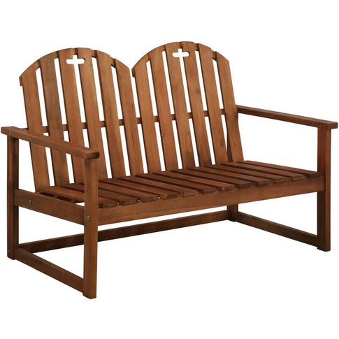 Garden Bench 110 Cm Solid Acacia Wood - Youthup