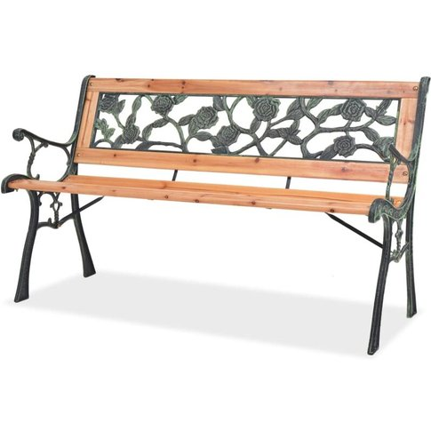 Garden Bench 122 Cm Wood - Youthup