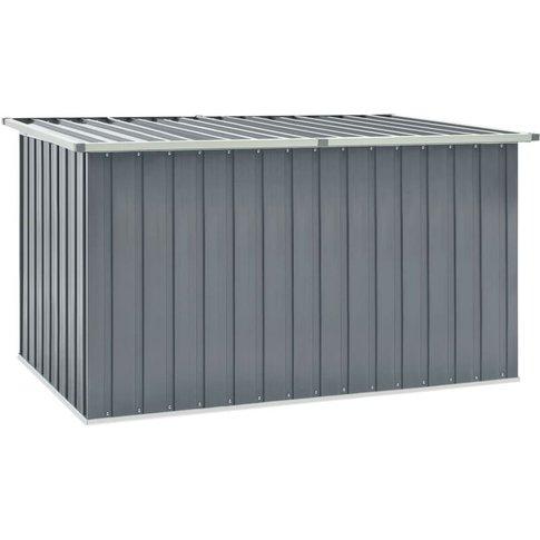 Garden Storage Box Grey 171x99x93 Cm - Vidaxl