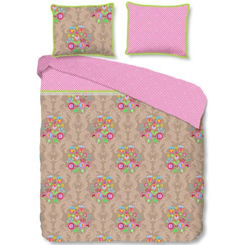 Duvet Cover Curly 240x200/220 Cm - Happiness