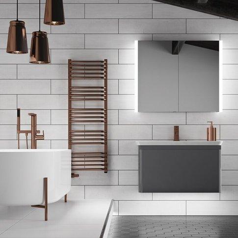 Paragon 80 Aluminium Led Double Door Bathroom Cabine...