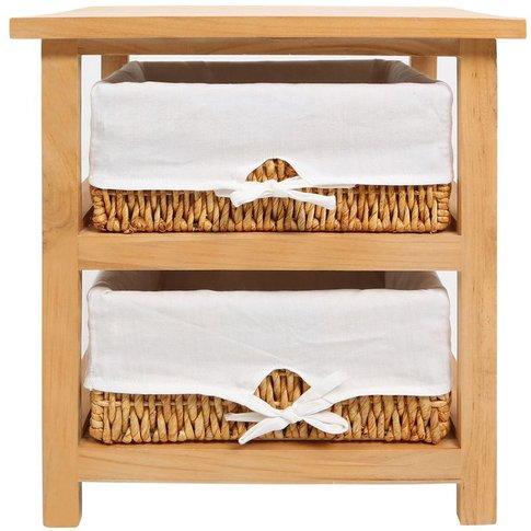 Honey Storage Unit, 2 Maize Baskets With Cotton Line...