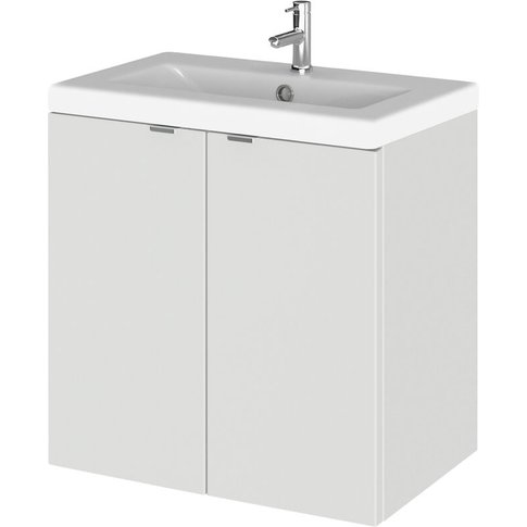 Hudson Reed Fusion Wall Hung 2-Door Vanity Unit With...